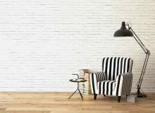 nowoczesne wnętrze z panelami podłogowymi